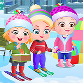 Baby Hazel Winter Fun 2