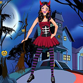 Halloween Party Doll Fashion